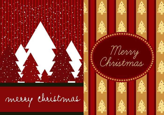 Red Christmas Illustrator Wallpaper Pack