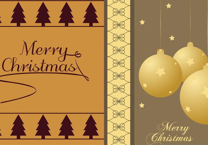 Christmas Tree & Ornament Illustrator Wallpapers