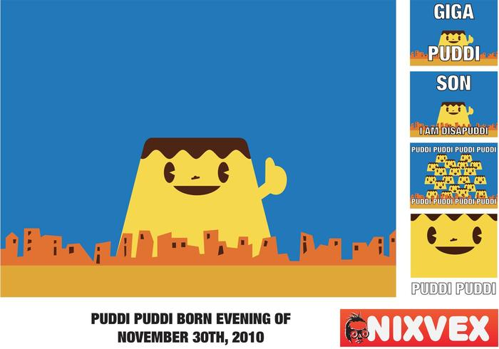 NixVex PUDDI Free Vector