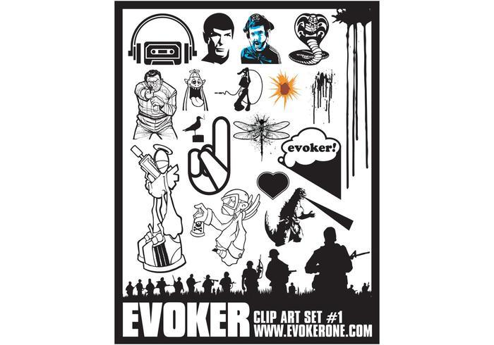 Evocador Clip Art Set 1