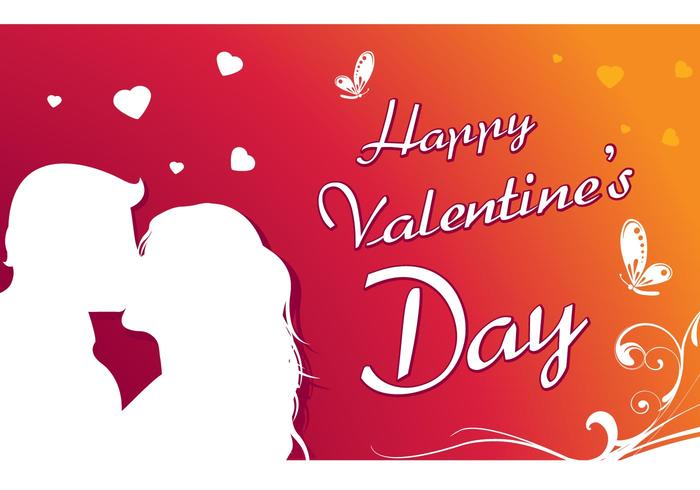 Happy Valentine's day greeting card 3