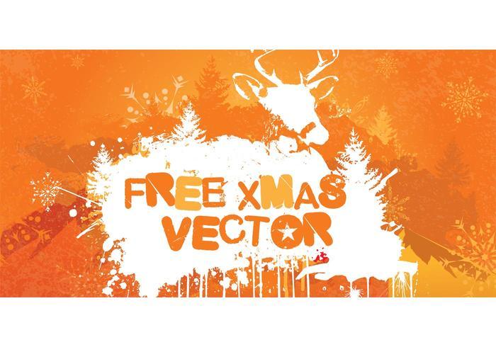 Grungy Christmas Vector