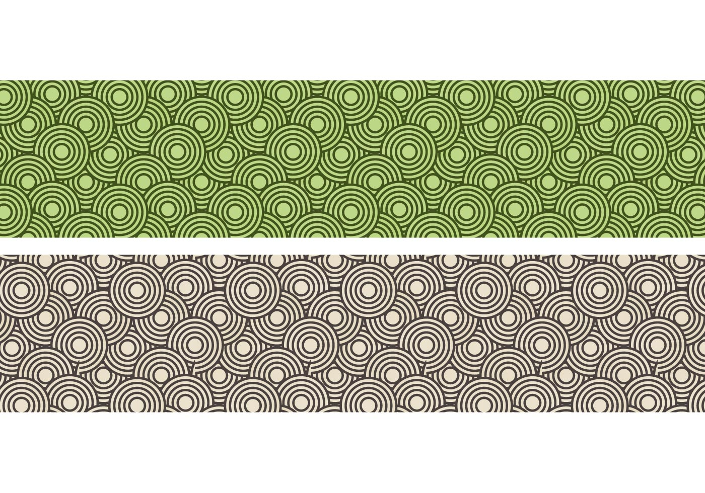 Crazy Circles Free Seamless Pattern Download Free Vector