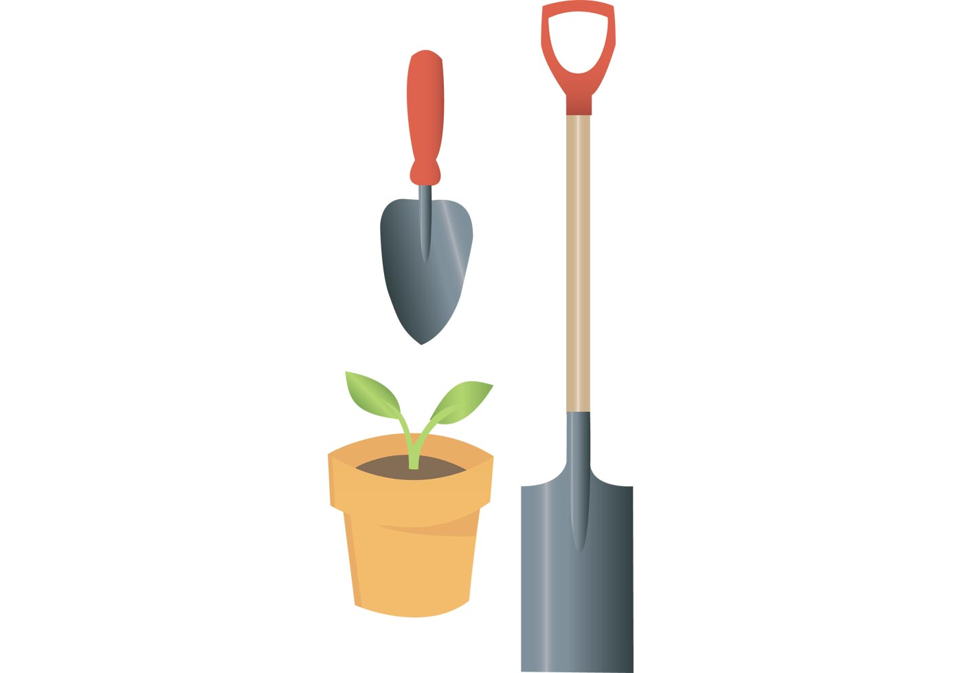Free garden equipment vectors from vecteezy for Gardening tools cartoon