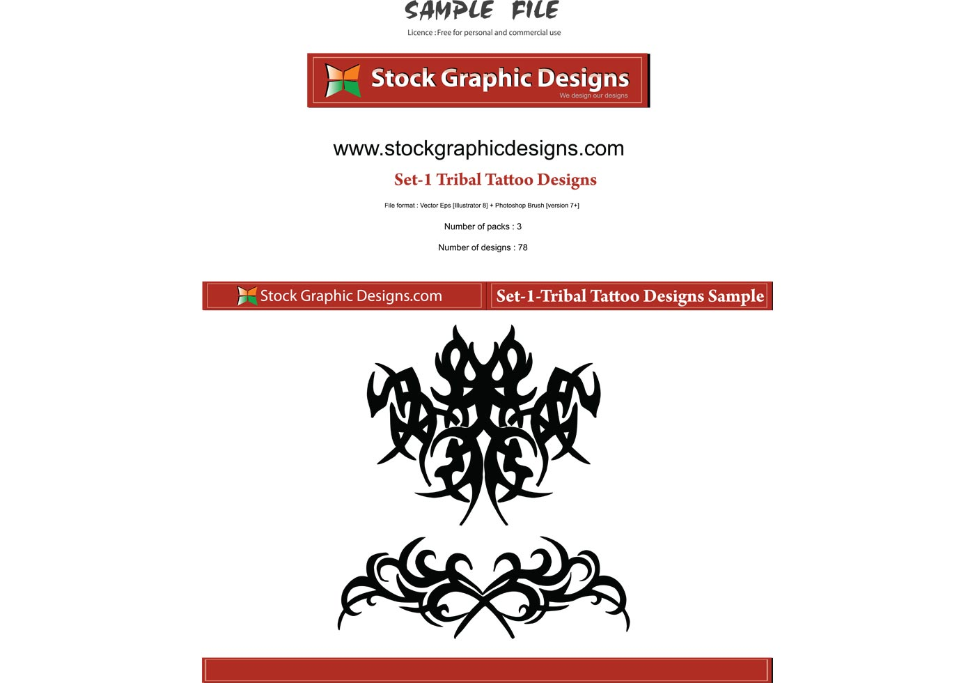 tribal tattoo designs download free vector art stock graphics images. Black Bedroom Furniture Sets. Home Design Ideas