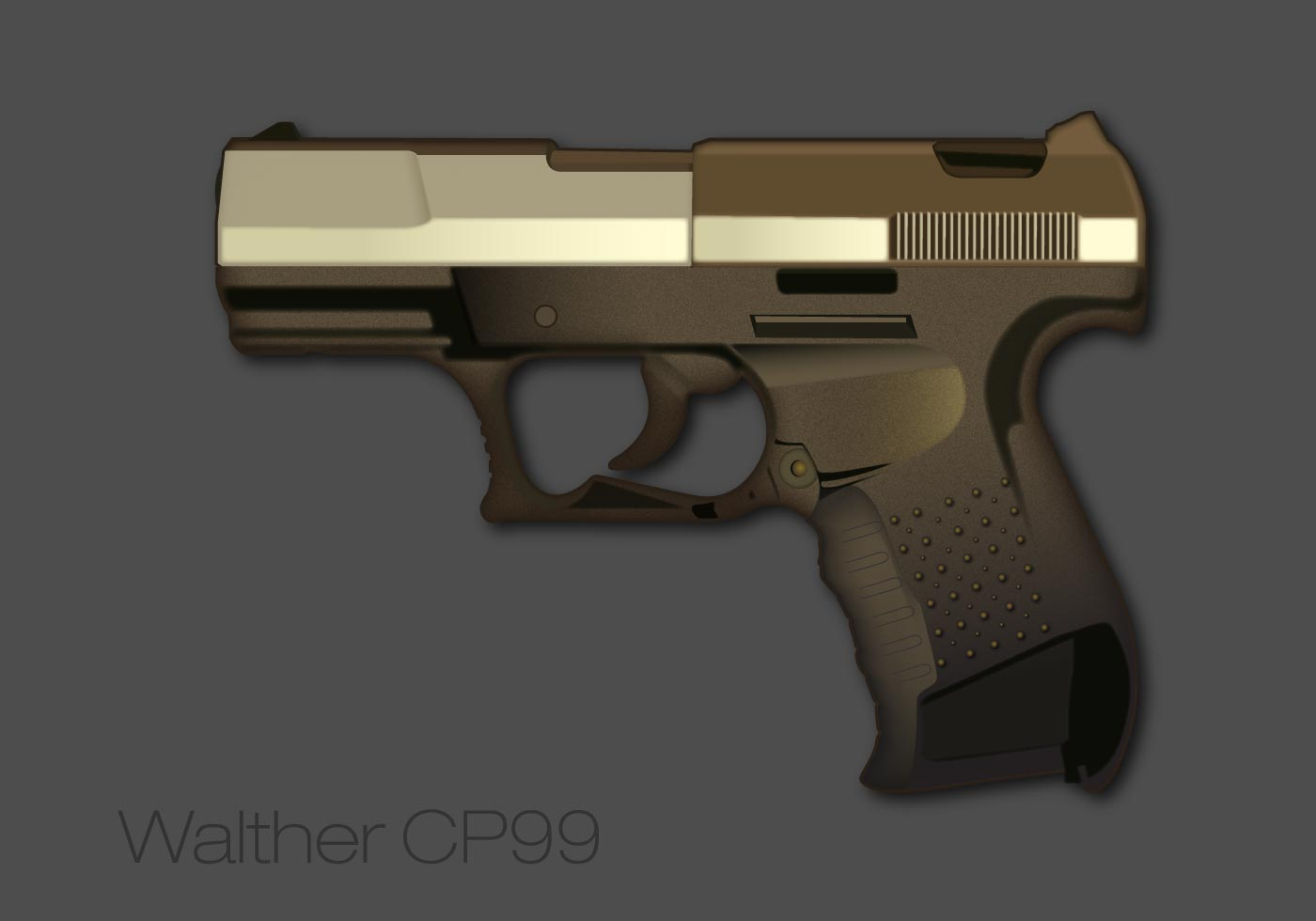 Free Walther Pistol Vector