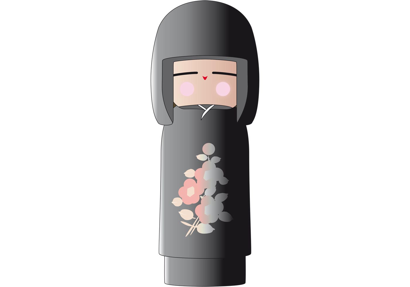 Japanese Doll - Download Free Vector Art, Stock Graphics ...