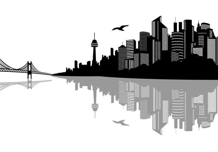 Vecteurs de paysage de la ville