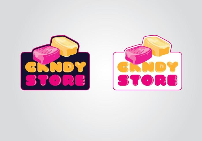 Candy Store Logo Template