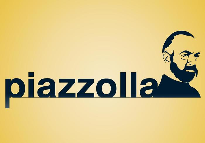 Astor Piazzolla Vector