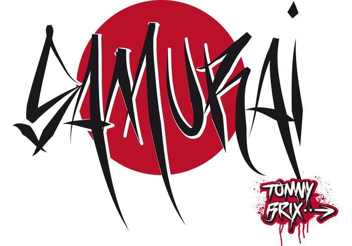 Samurai - design tommy brix