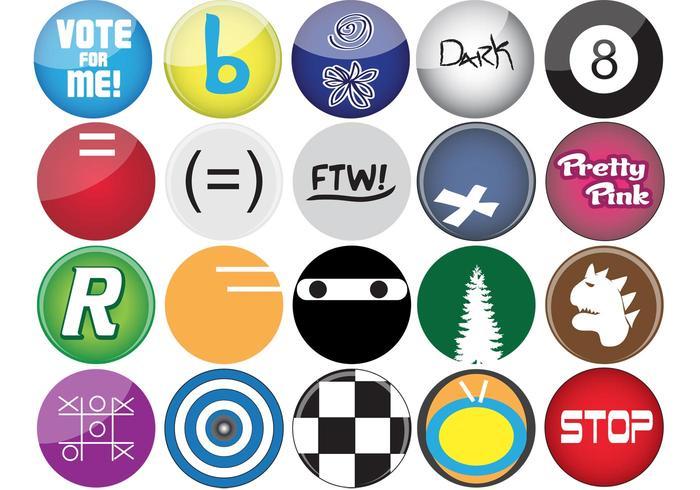 Button Vektoren
