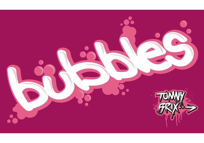 bubbles - design Tommy Brix
