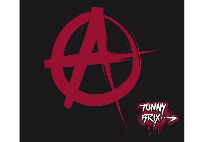 ANARCHY (SIGN / SYMBOL) - ontwerp Tommy Brix