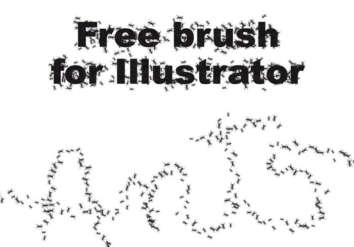 Ant Illustrator Brush