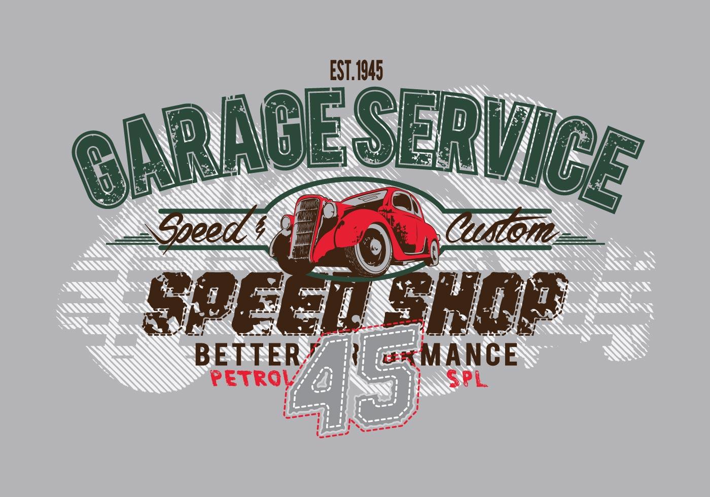 free vintage vector t shirt design