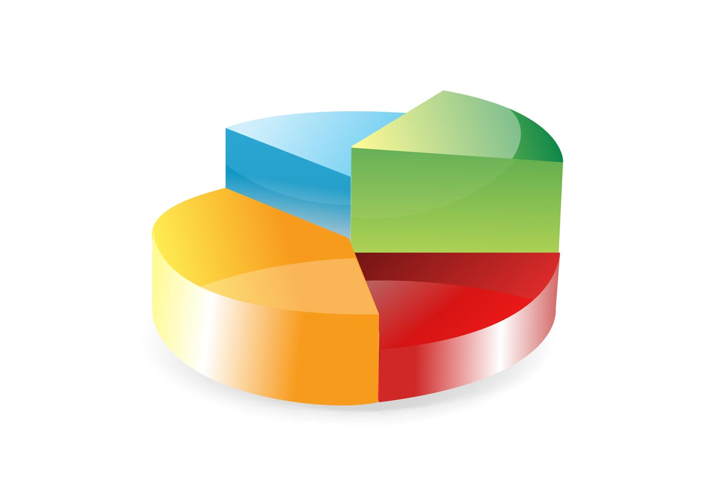 Free Pie Chart Vector