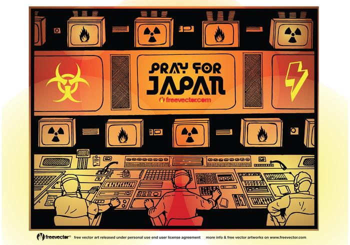 Pray for Japan Vector