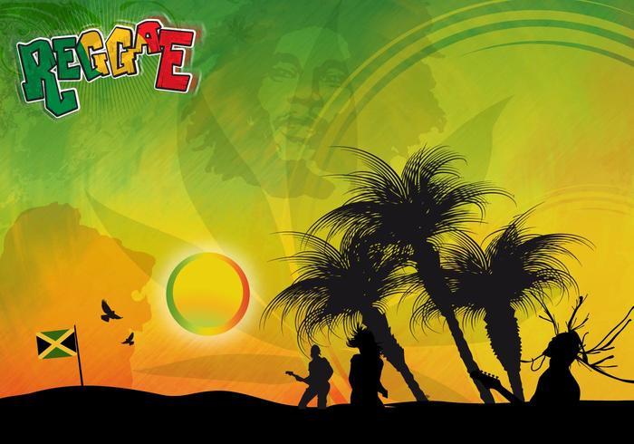 Fundo reggae