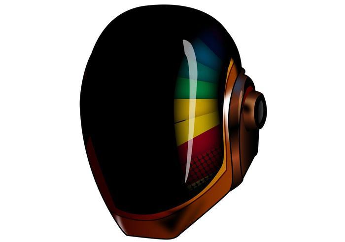 Helm Daft Punk Vektor