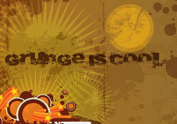 Grunge Brown Background