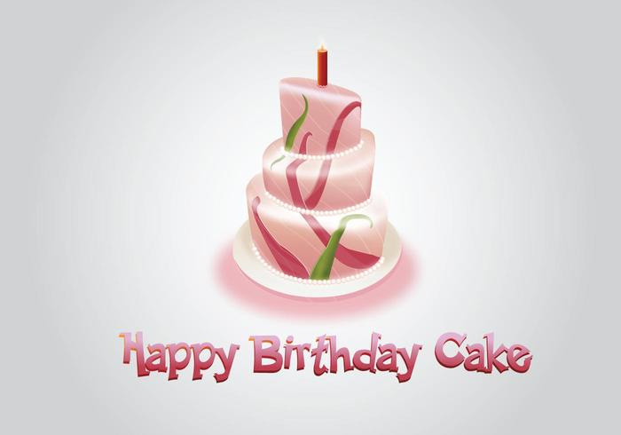 Birthday Cake Images Vektor ~ Birthday cake vectors free downloads
