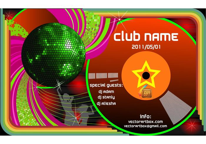 Vector Club Poster Template