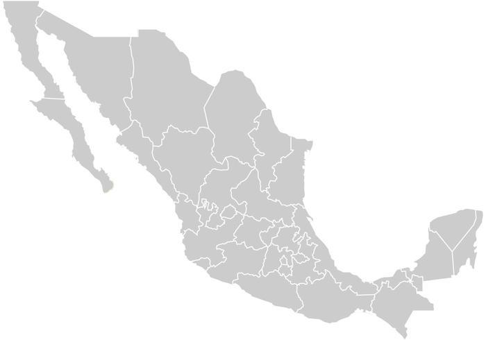 Free Mapa Mexico Vector - Mapa de mexico
