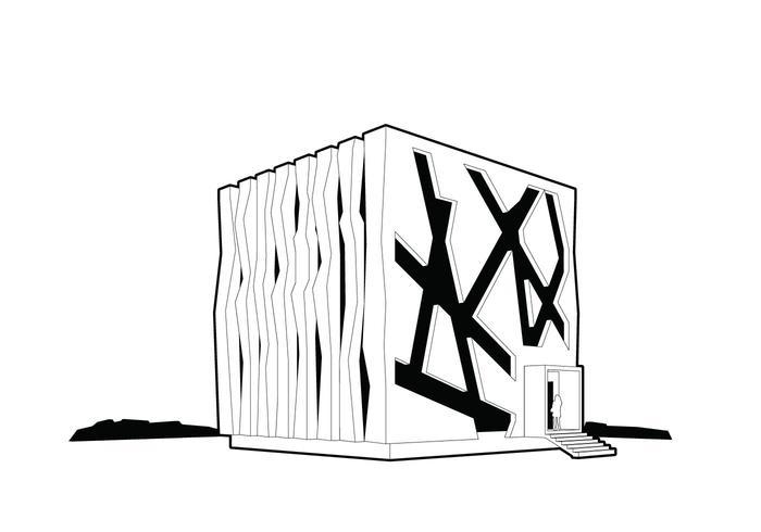 Green Cube Vector