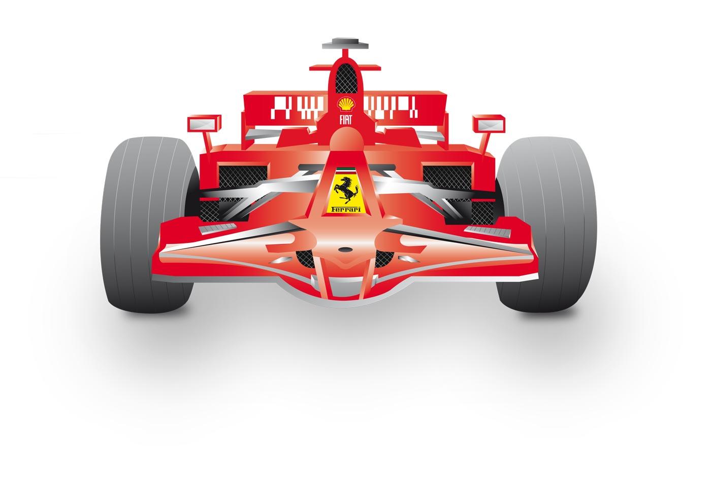 Free Ferrari Vector
