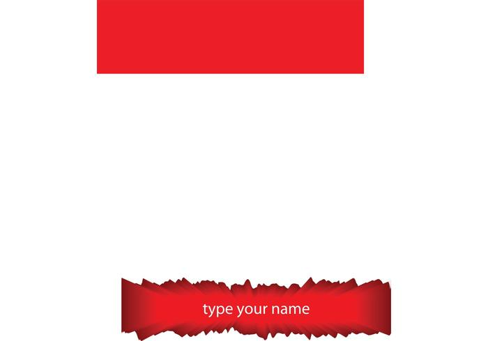 Name Board Vector