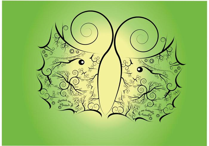 Butterfly Vector Background