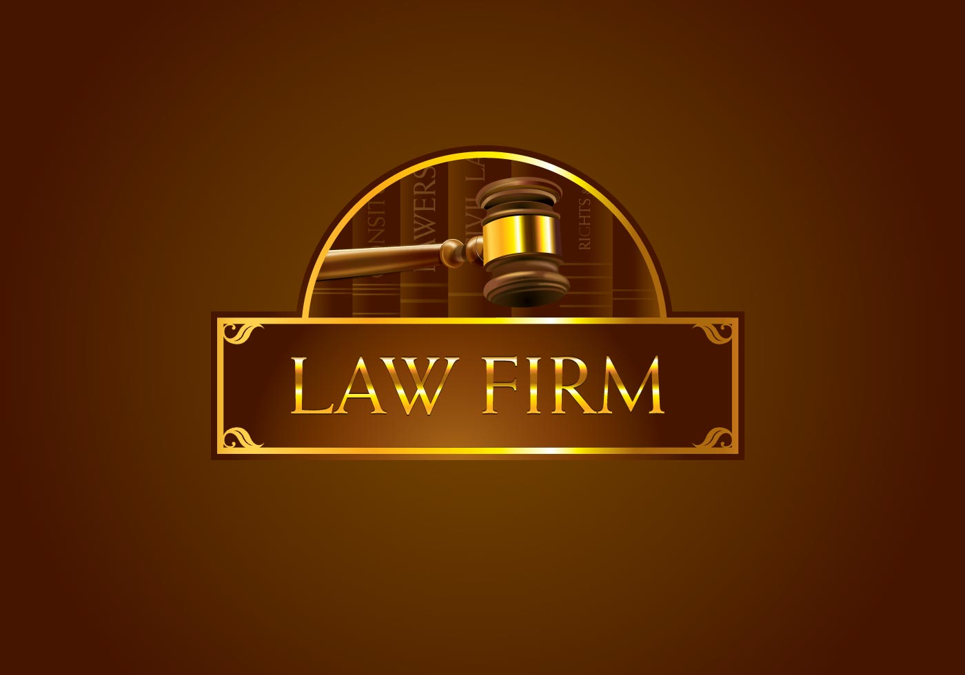 Logo vector for law firm for Firm company