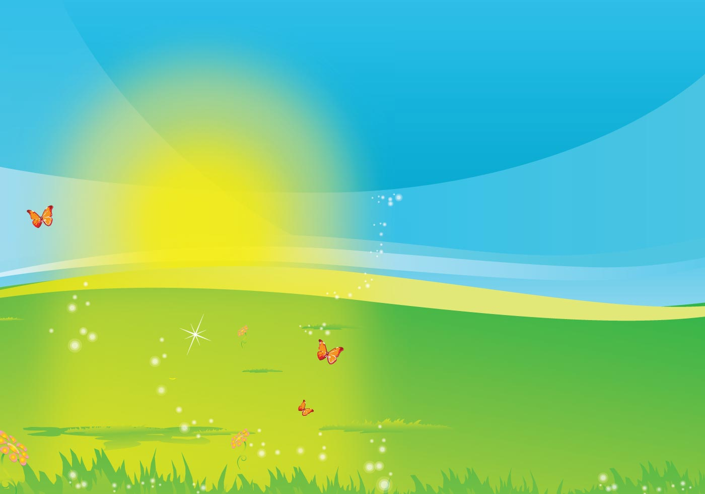Here Comes The Sun Download Free Vector Art Stock