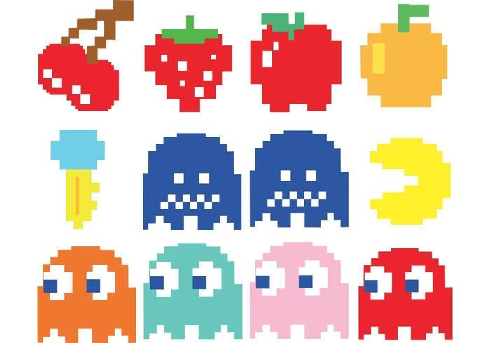 Vetores Pacman