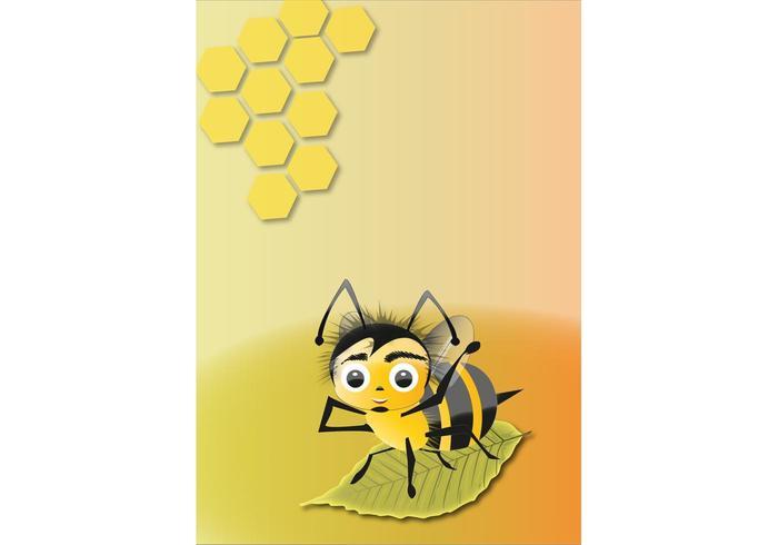 Abelha abeille vecteur