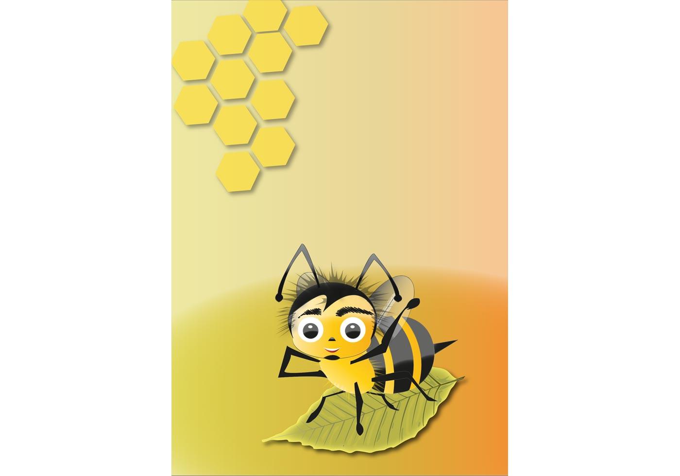Free Abelha Bee Vector