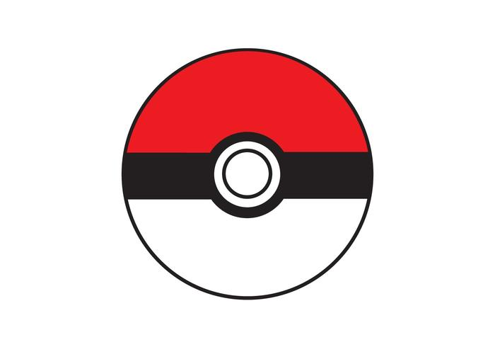 Pokebola Vector