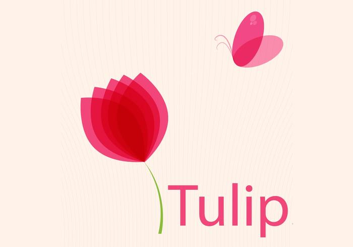 Free Tulips Vector