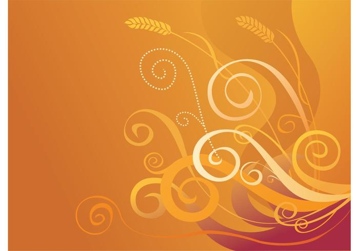 Golden Crop Vector