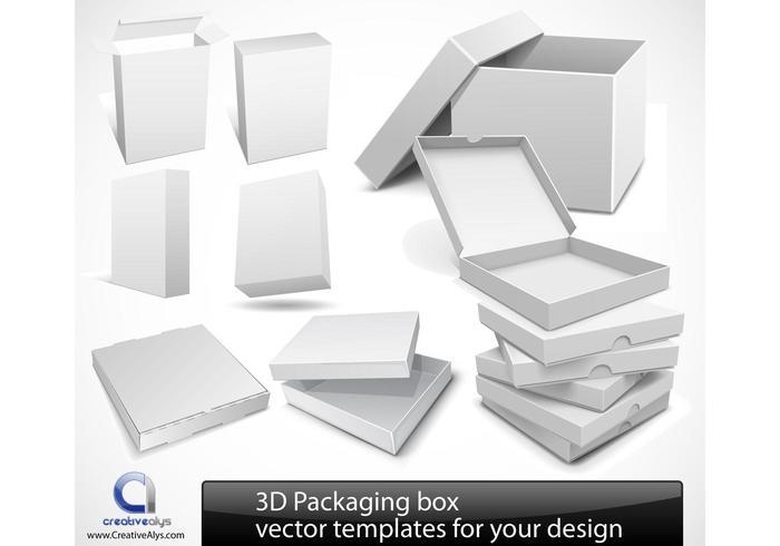 Design Packaging Templates For Envelopes