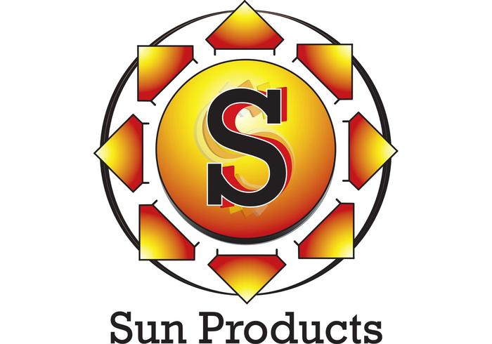 Sun Symbol Logo Download Free Vector Art Stock Graphics Images