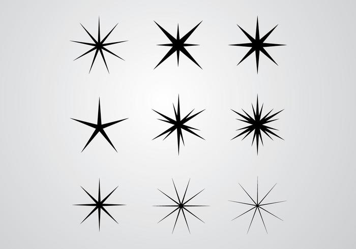 Stars and Shines Vector
