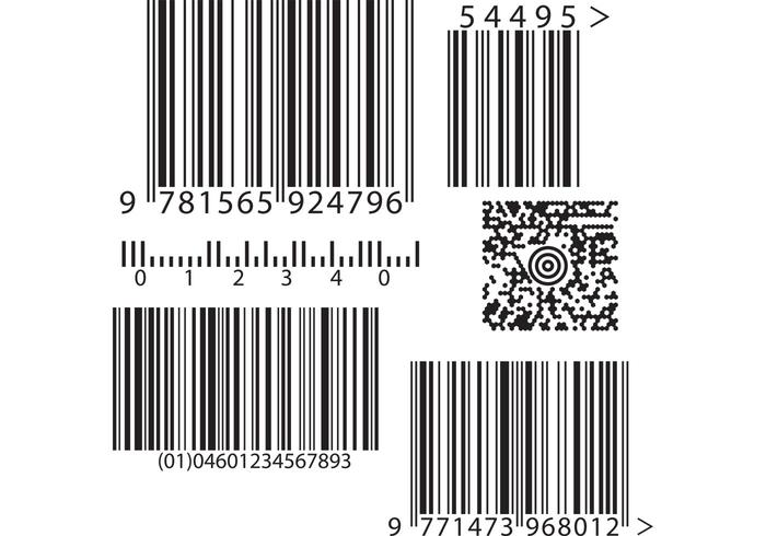 Barcode Vectors - Download Free