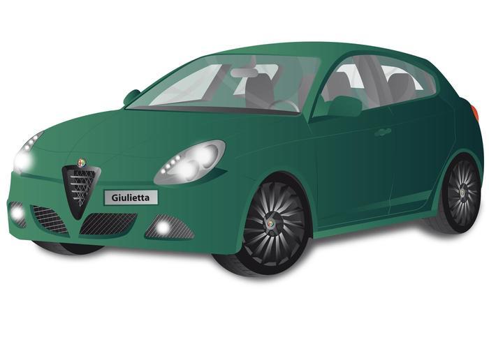 Alfa Romeo Giulietta Car Vector
