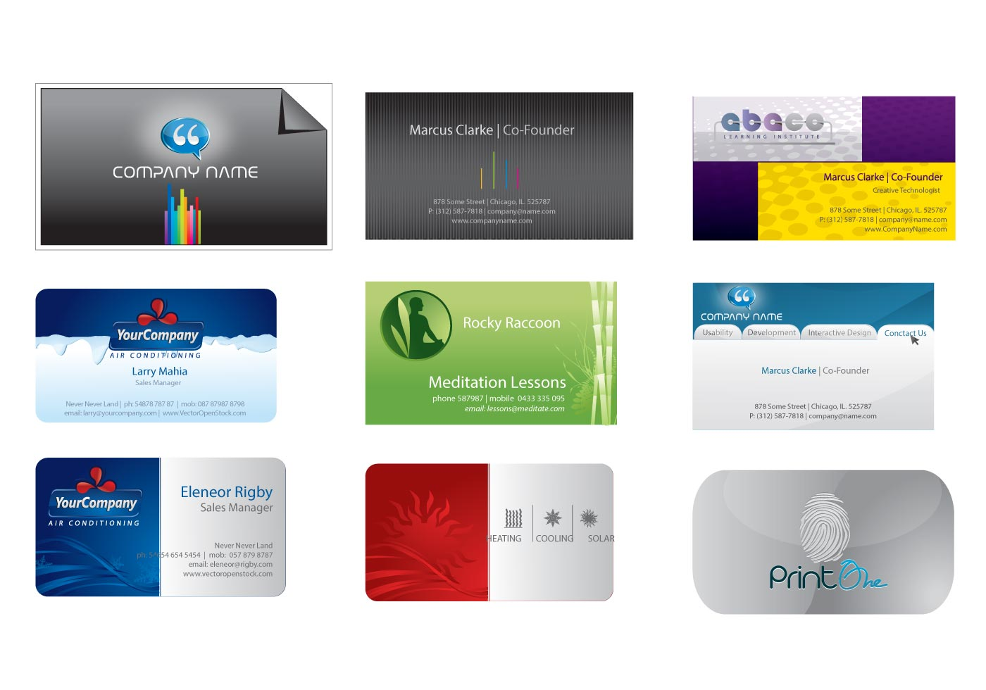 Business card templates download free vector art stock graphics business card templates download free vector art stock graphics images accmission