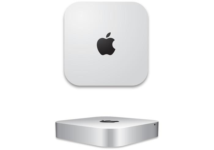 Apple Mac mini 2011 Free Technology Vector