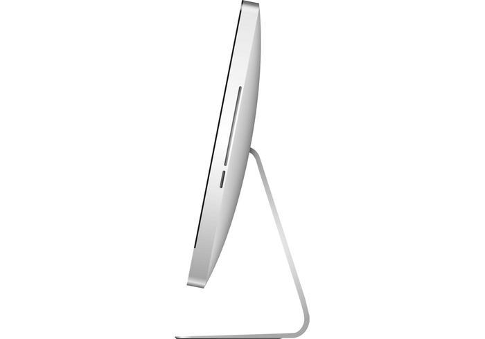 iMac 27 - side view