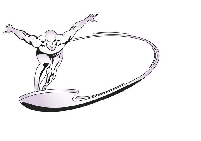 Marvel Silversurfer Vector