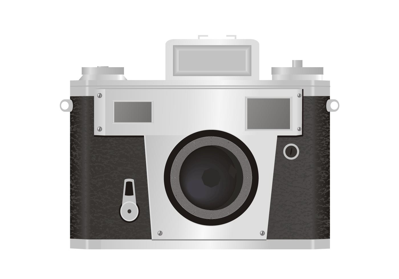 Free 35mm classic camera vector for Camera gratis